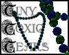 TTT Beads ~ Peacock