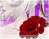 Red Shoulder Roses L