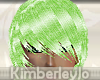 :KJD:Hair Lime Green