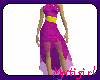 Purple chinese dress