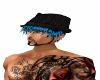 Damion Blue w/ hat