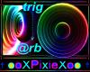 Rainbow Ball dj light 1