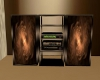 Bronze stereo unit