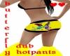 butterfly dub hotpants