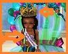 Kids Mermaid Crown  Sash