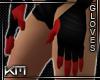 +KM+ Gloves Black/Red