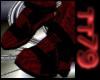 red/black dress shoe