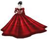 Red Pvc Ballgown