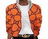 Gucci Orange Jacket