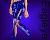 (ES) Sexy Blue Skirt 2