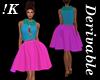 !K! Petal Keyhole dress