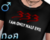 *NoA*Half Evil Blk /M