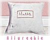 A* Hustle Marble Pillow
