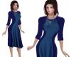 TF* Modest Blue Dress