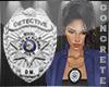 Detective Badge Custom F