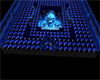 Blue Flame Skull Club