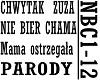 CHWYTAK ZUZA - NIE BIER