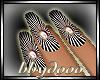 Slender Silver Nails