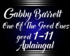 GabbyBarrett-Good Ones