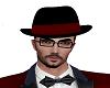 Valentines bowler hat