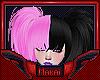 м| Half & Half P+B Hair