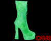 Animated Green Boots F