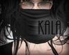 !A black scarf
