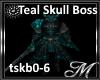 Teal Skull Boss