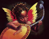 Black Girl Angel HARP