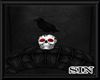 Dungeon Crow with Skull