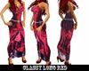 Classy long red