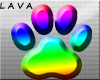 furry pride paw sign