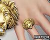 ✘ Lion Ring. R