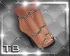 [TB] Black Bling Heels
