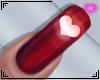 Valentine Amor Nails