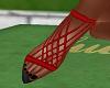 FG~ Kylie Red/Black Heel