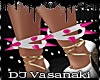 = Ankle Spikes Pink