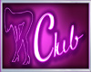 Club signs neon purple