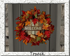 fall wreath.