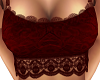 Red Ora Lace Top