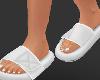 SLIPPERS WHITE ( F )