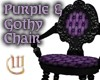 Purple&Gothy Chair