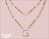 G necklace