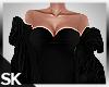 SK| Black Furr Coat