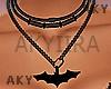 #Bat Necklace
