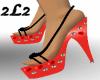 2L2 Betty Boop Sandals