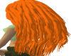 oranje outfit hair