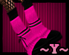 ~Y~Pink/Black Monster