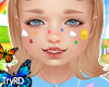 🦋 Kids face stickers