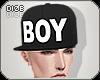 Dz. BOY black cap